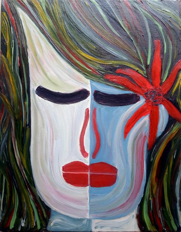Oil on canvas (14x18)