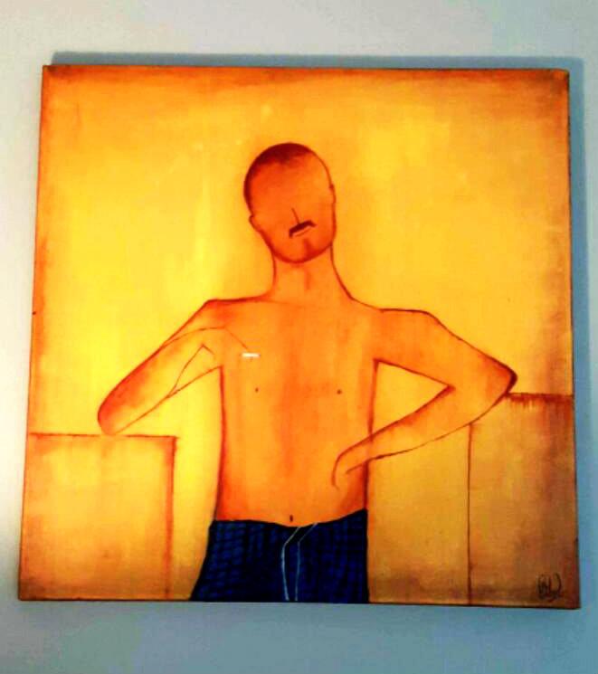 Acrylic on canvas (20x20)